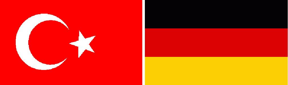 Deutsch/Türkische Flagge